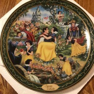 Rare Bradford Exchange Ltd Ed Snow White Plate